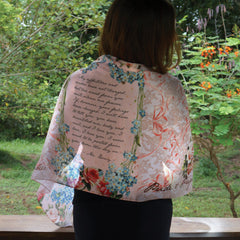 Pride and Prejudice Literary Scarf