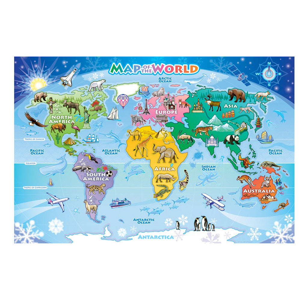 Map of the World Puzzle The Readers Catalog – Map World Puzzle