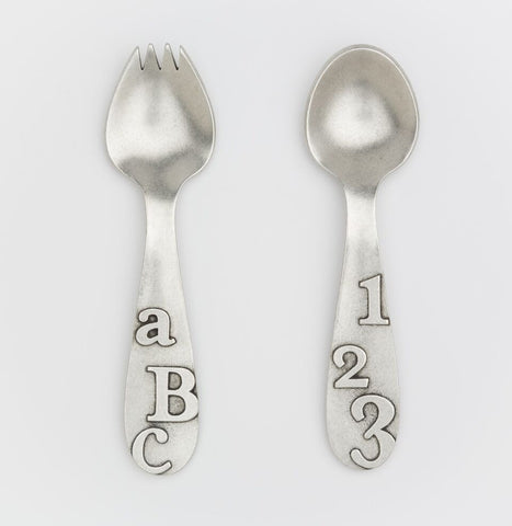 ABC/123 Spork & Spoon Set