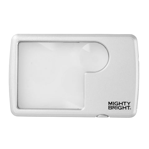 Lighted Wallet Magnifier