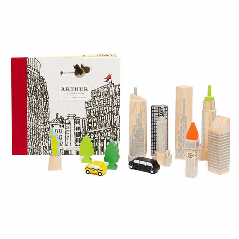 Arthur & New York City Skyline Glow Blocks
