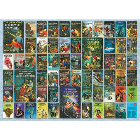 Hardy Boys Books Puzzle