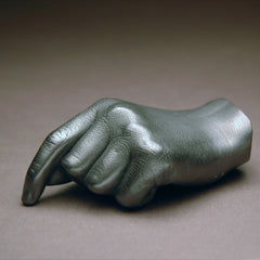 Graphite Hand Sculpture