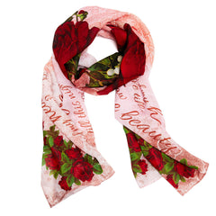 Romeo and Juliet Literary Scarf