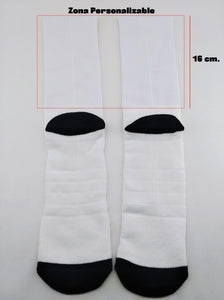 CALCETINES PERSONALIZABLES PIE BLANCO