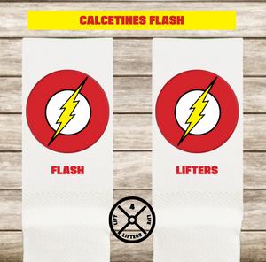 Calcetines FLASH LOGO BLANCO