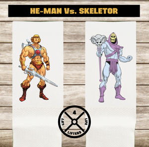 Calcetines HE-MAN Vs. SKELETOR (varios colores)