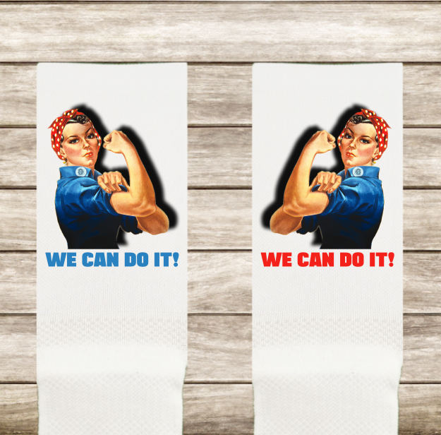 Calcetines ROSIE THE RIVETER - WE CAN DO IT!