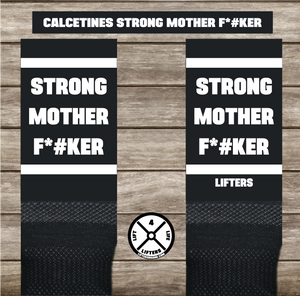 Calcetines STRONG MOTHER F*#KER BLACK