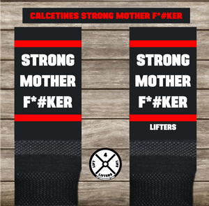 STRONG MOTHER F*#KER RED/WHITE