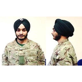The Rifles - Turban All Ranks (Material per Metre)