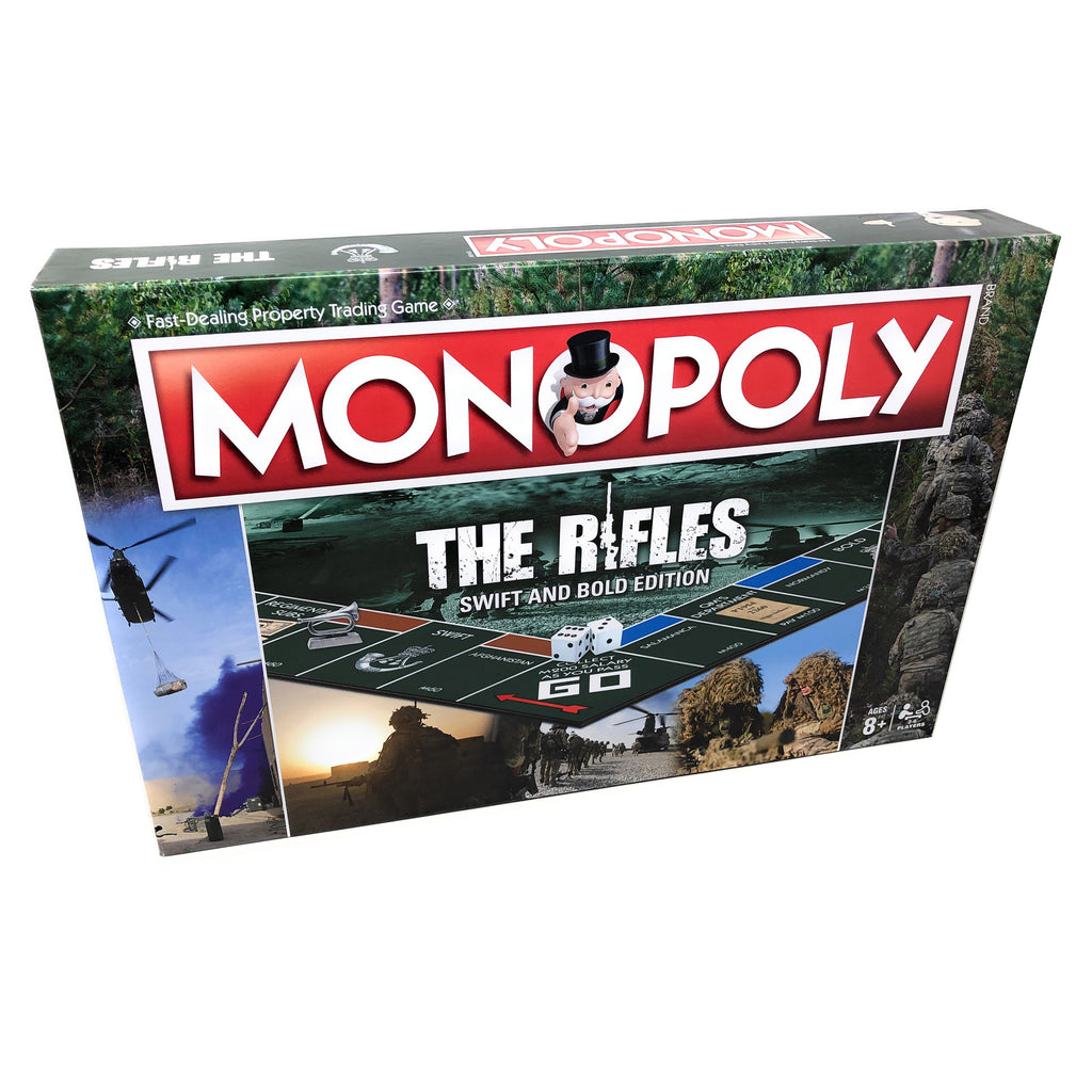 LAST CHANCE The Rifles Monopoly Board Game - Official Limited Edition