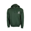 The Rifles Green Hoodie with Cap Badge