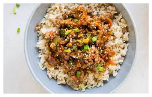 Turkey Mince Teriyaki