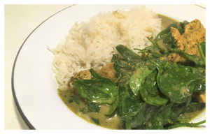 Left-over Turkey Thai Green Curry