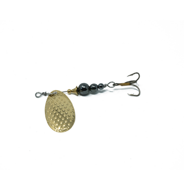 Black Pearl (Gold Blade) Trout Spinner