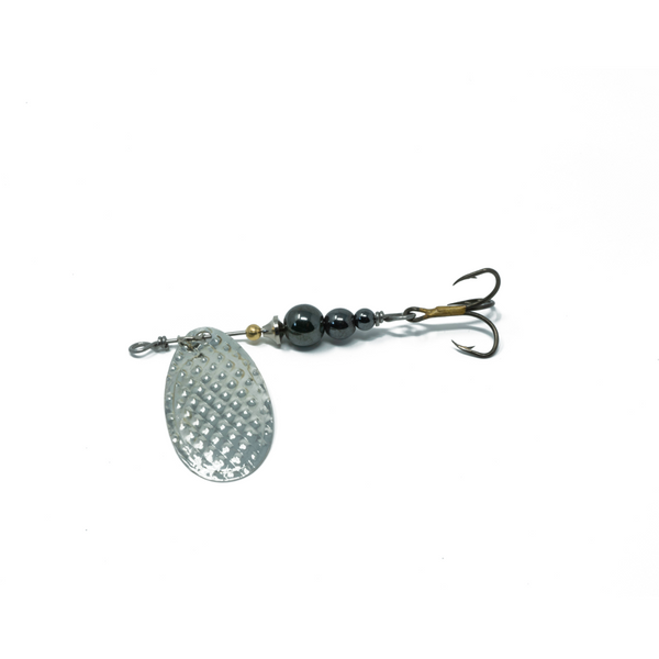 Black Pearl (Silver Blade) Trout Spinner