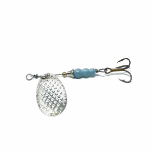 Electric Blue Trout Spinner