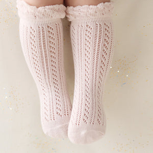 Knitted Style Cotton Socks