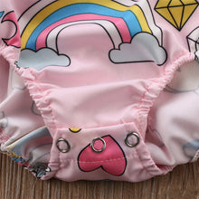 """Magical Unicorn"" Baby Girl Bodysuit"