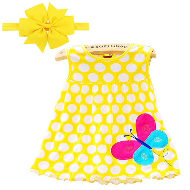 Butterfly SummerGirl Dress