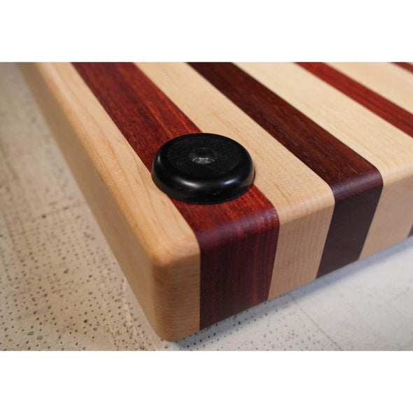 Maple and Jarah Cutting Board - Todd Alan Woodcraft
