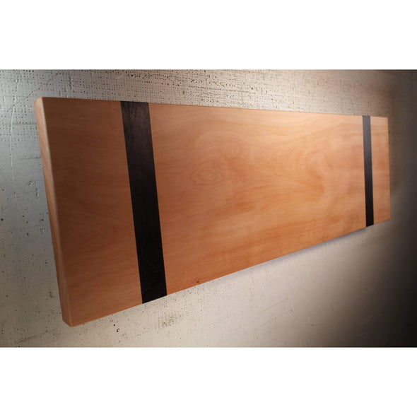 Madrone and Black Wenge Raised Charcuterie Board - Todd Alan Woodcraft