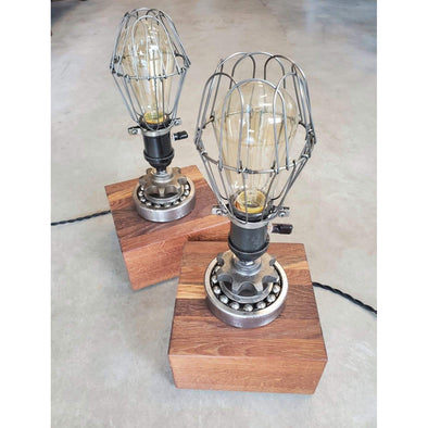 """Bearing with it"" Edison Lamp - Todd Alan Woodcraft"