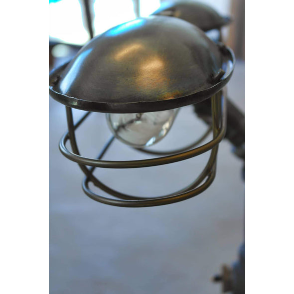 Industrial Bankers Lamp - Todd Alan Woodcraft