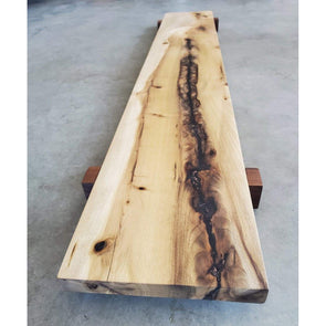 Elevated Myrtle Wood Charcuterie Board - Todd Alan Woodcraft