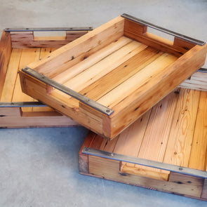 Farmhouse Garden Tray - Todd Alan Woodcraft