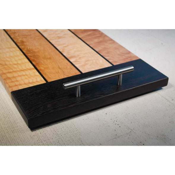 Figured Maple and African Wenge Serving Boards - Todd Alan Woodcraft