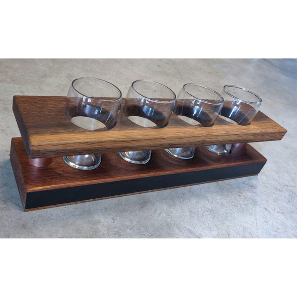 Beer Flight Racks - Todd Alan Woodcraft