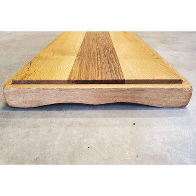 French Provincial Oak Serving Board - Todd Alan Woodcraft