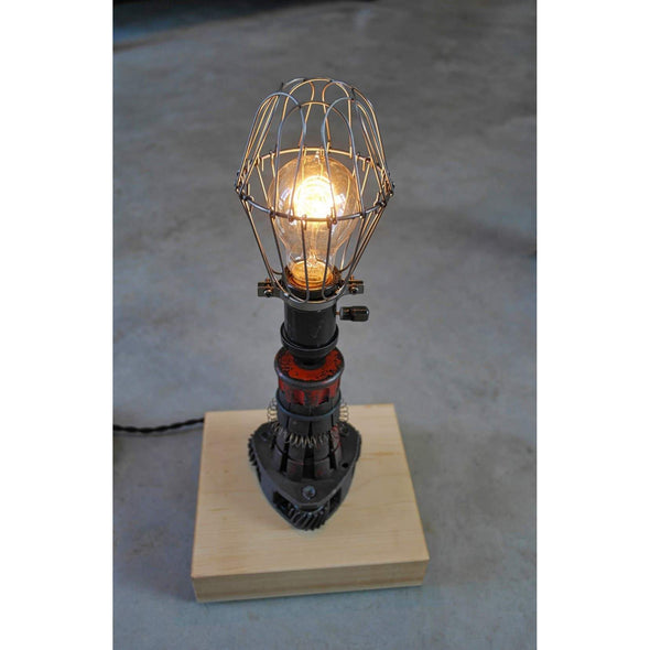 Gear Puller Lamp - Todd Alan Woodcraft