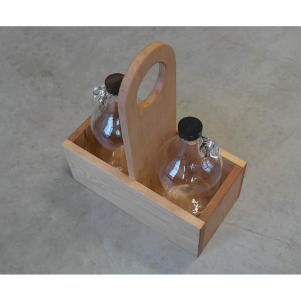 The Growler Tote - Todd Alan Woodcraft