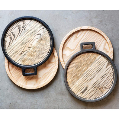 Le Plateau Ronde Ash Serving Tray - Todd Alan Woodcraft