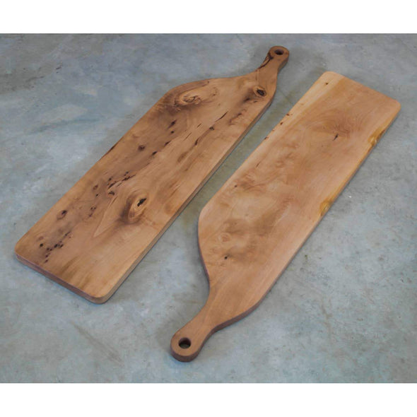 On Sale: ONE LEFT Organic Handle Madrone Charcuterie Board - Todd Alan Woodcraft