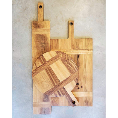 Old World Style French Oak Charcuterie Board. - Todd Alan Woodcraft