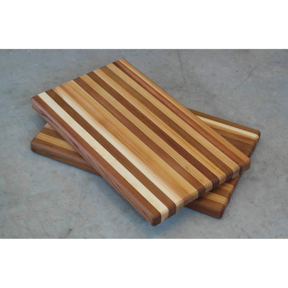 Reclaimed Cedar serving tray with underside hand holds. - Todd Alan Woodcraft