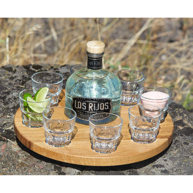 Tequila Shot Spinner - Todd Alan Woodcraft