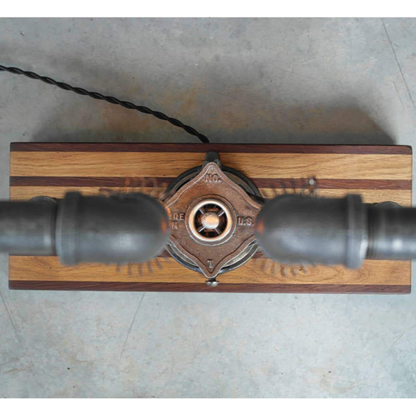 The Pipe Threader Edison Lamp - Todd Alan Woodcraft
