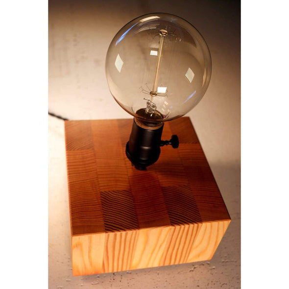 Reclaimed Vertical Grain Fir Lamp - Todd Alan Woodcraft