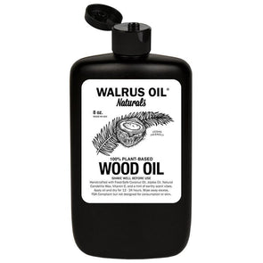 "Walrus Oil ""Vegan"" Wood Oil, 8oz Bottle - Todd Alan Woodcraft"