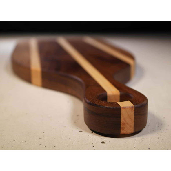 Black Walnut and Maple serving board - Todd Alan Woodcraft
