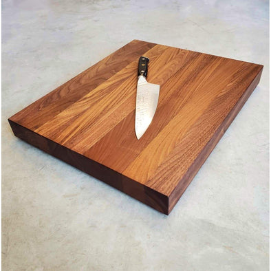 Walnut Edge Grain Cutting Board - Todd Alan Woodcraft