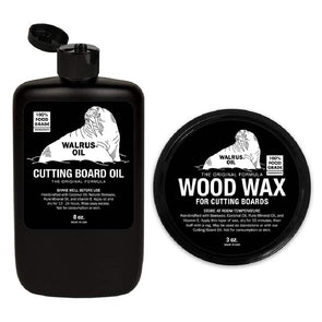 Walrus Oil & Wax Bundle - Todd Alan Woodcraft