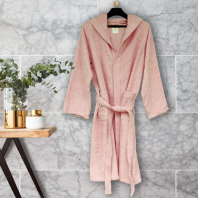 Decide how you will use your bathrobe