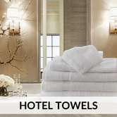 Hotel Towels | Hotel Linen | HYC Hotel Supply