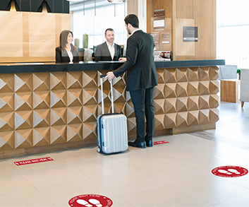 hotels have switched to a different approach. Such as promoting social distancing as much as possible to break any chains of infections for the safety of their visitors.
